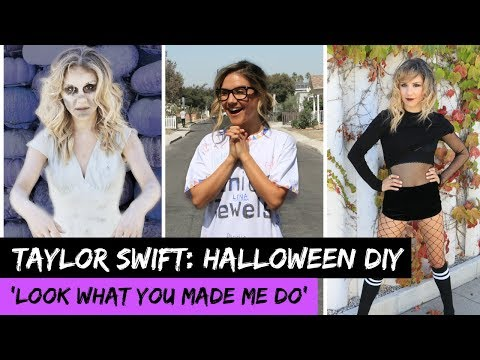 Taylor Swift 'Look What You Made Do': EASY HALLOWEEN COSTUMES!