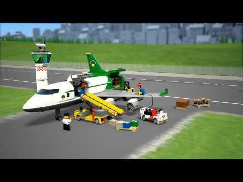 Конструктор LEGO City 60022 Грузовой терминал