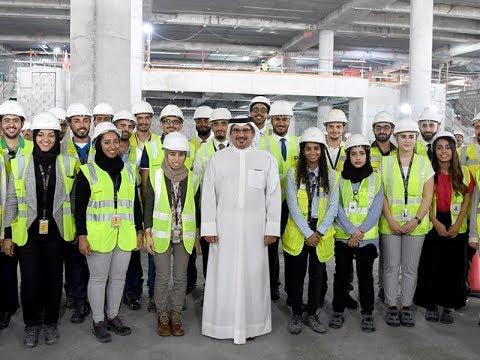 سمو ولي العهد يزور مشروع توسعة مطار البحرين الدولي