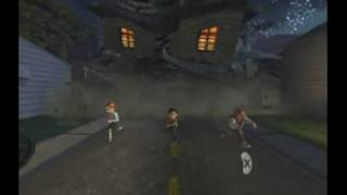 Monster House Movie Game Walkthrough Part 8 (GameCube)