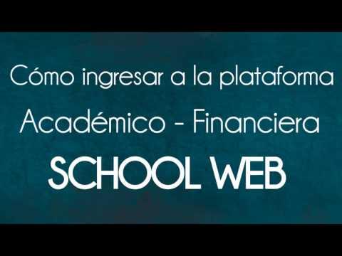 Ingreso a School Web
