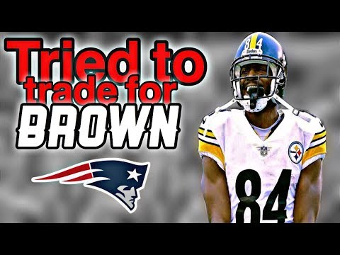 Patriots tried to trade for WR Antonio Brown