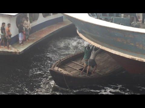 Boat Terminal In Bangladesh