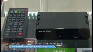 Fim do sinal analógico faz lojas oferecerem aparelhos a preços mais acessíveis