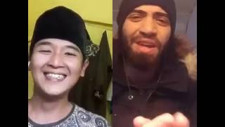 Video Hasbi membawakan lagu Arab bareng bule di SMULE!!!! MP3, 3GP, MP4, WEBM, AVI, FLV Juli 2018