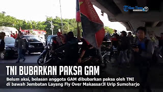 Video SADIS! TNI Bubarkan Paksa GAM di Fly Over MP3, 3GP, MP4, WEBM, AVI, FLV Juni 2017