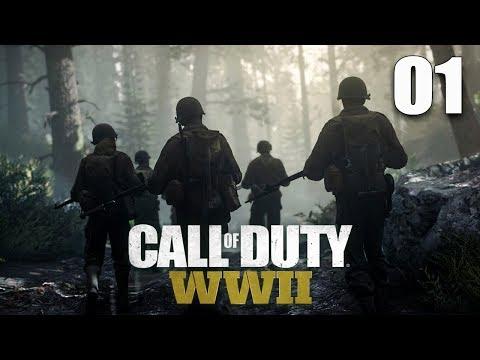 Call of Duty: WWII - Прохождение pt1 - День Д