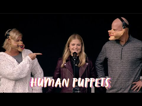 The Spin with Darci Lynne #19 - Human Puppets