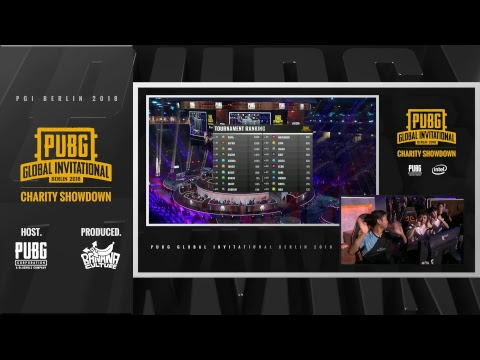 EN: PUBG Global Invitational (PGI) 2018 - Day 3 Charity Showdown