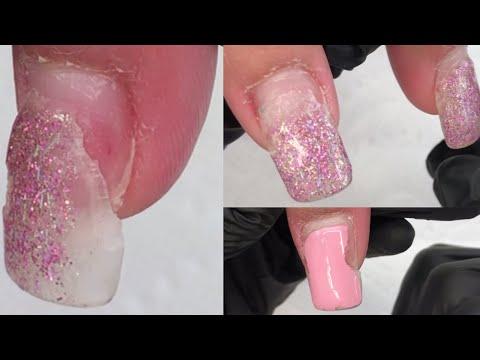 Acrylic Nails Raised and How to Remove Them/Levantamiento en Uñas Acrilicas/Como Removerlas