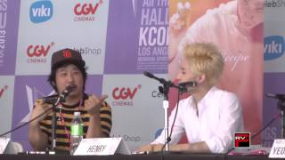 Nonton Henry Of Super Junior And Bobby Lee Talk Final Recipe Movie Clip 1 At Kcon 2013 Film Subtitle Indonesia Streaming Movie Download