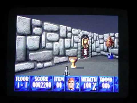 Wolfenstein 3D on the Apple IIGS