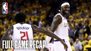 CLIPPERS vs WARRIORS | LA Takes Must-Win in Oakland | Game 5 by NBA