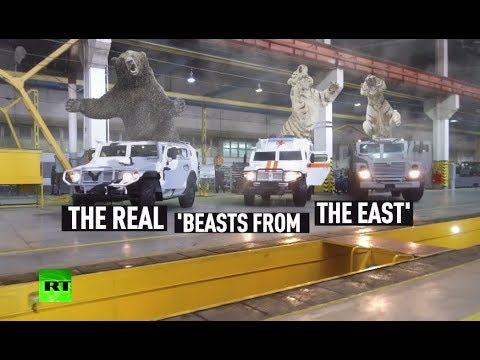 The real 'Beasts from the East': Russia's next-gen armored vehicles