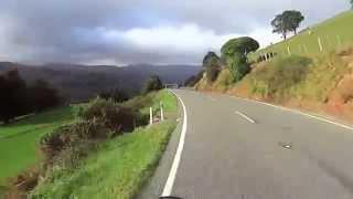 8. Riding a 2005 Moto Guzzi 1100 Cafe Racer