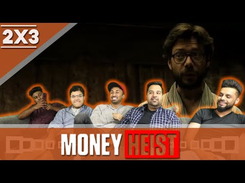 Money Heist | La Casa de Papel | 2x3 | REACTION!
