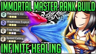 Infinite Healing Master Rank Immortal Build - Monster Hunter World Iceborne! (Easy Endgame Farming)