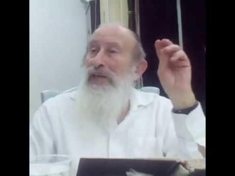 הרב אהרן הלפרין ז&#039 כסלו תשעז