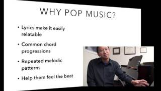 Developing Listening and Rhythmic Skills with Pop Music in Piano Maestro