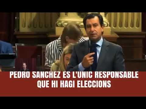 """Company: """"Pedro Sánchez és nociu per a Espanya i per a Balears"""""""