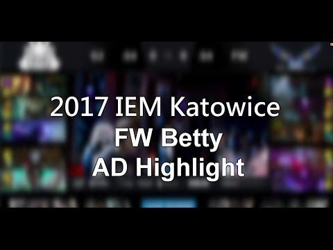IEM 閃電狼奪冠 Betty ADC Highlight