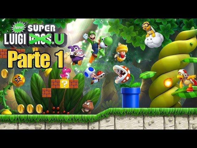 New Super Luigi U Parte 1 Espaol   AllMusicSite.com