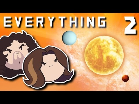 Everything: Boy, Space is Big - PART 2 - Game Grumps (видео)