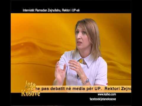 INTERVIST� ME REKTORIN RAMADAN ZEJNULLAHU
