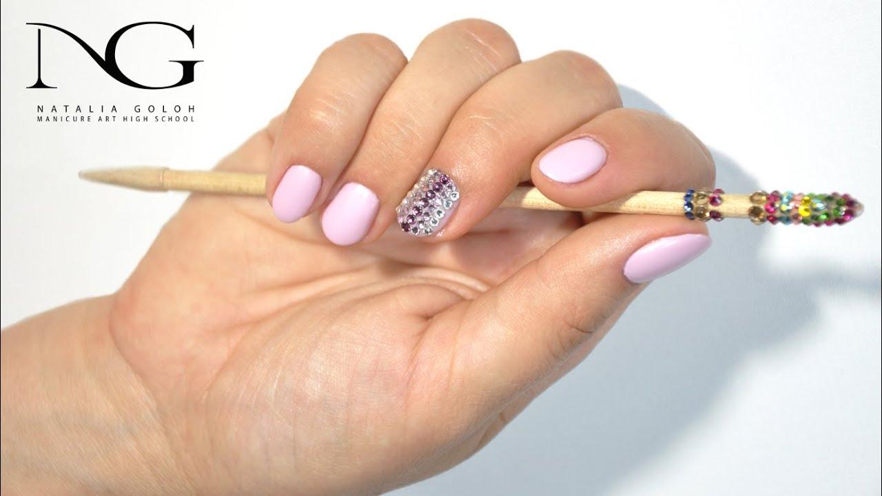 Маникюр. Смотреть онлайн: Свадебный дизайн ногтей / Wedding Nail Design