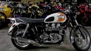 3. 2008 Triumph Bonneville T100 Used Motorcycle Parts