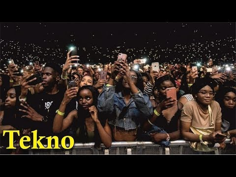 TEKNO PERFORMS 'JOGODO' @ WIZKID AFRO REPUBLIK CONCERT, 02 LONDON [ Nigerian entertainment ]