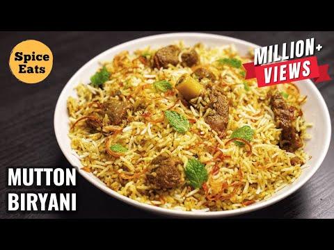 SIMPLE MUTTON BIRYANI FOR BEGINNERS | MUTTON BIRYANI WITH BIRYANI MASALA | MUTTON BIRYANI RECIPE