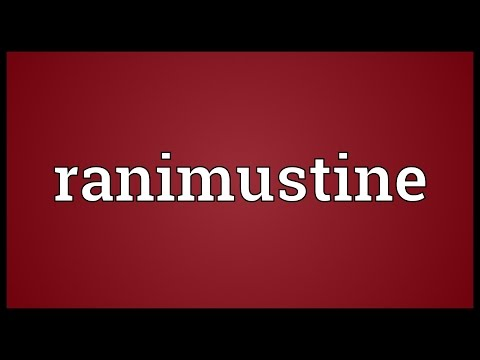 Ranimustine Meaning