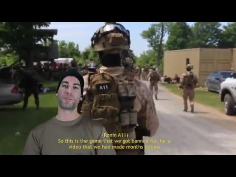 Airsoft - GMR : Uncommon Ground, an Airsoft Video Cameras Trevor Hoar Rich Ballard Saverio Edited & Graphics Ben@GMRangers.com http://www.GMRangers.com http://www.face...