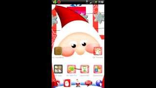 GO Launcher EX Santa Claus YouTube video