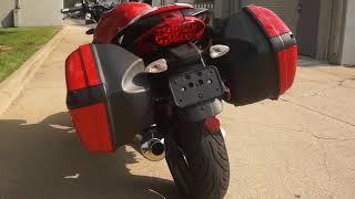 6. 2008 Moto Guzzi Breva 1200 Sport - DallasMoto.net