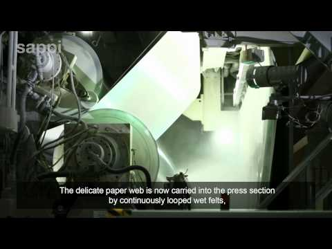 How Paper is Made - Sappi Tube