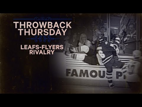Video: TBT: Domi, Tucker leads charge in Leafs-Flyers heated rivalry