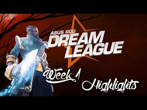 Dota 2 • ASUS ROG DreamLeague Week 1 Highlights