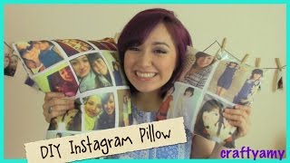 DIY Instagram Pillow - YouTube