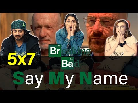 Breaking Bad - 5x7 Say My Name - Group Reaction