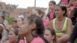 Former Mexico women's national team captain Mónica González is using the power of football to transform the lives of disadvantaged girls. FIFA Football caught up with her in Medellín, Colombia at one of her Gonzo Soccer academies.
