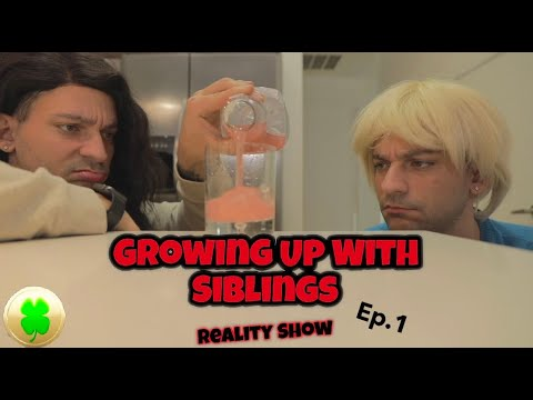 Growing up with siblings (REALITY SHOW) | PatD Lucky