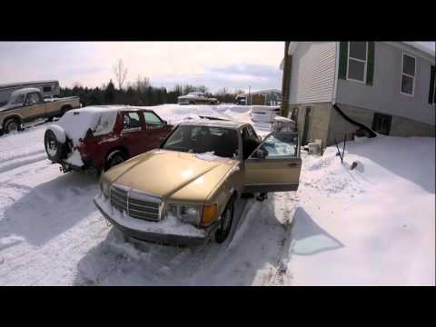 Ford 6.9 and Mercedes 300SD Diesel Cold Starts