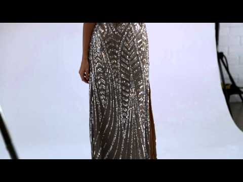 Strapless Fitted Shail K Prom Dress 3512