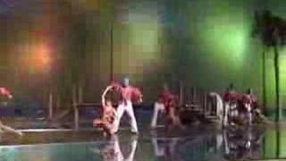 0315 Brazilian Dance Show Lambada Coreografia De Jaime Aroxa