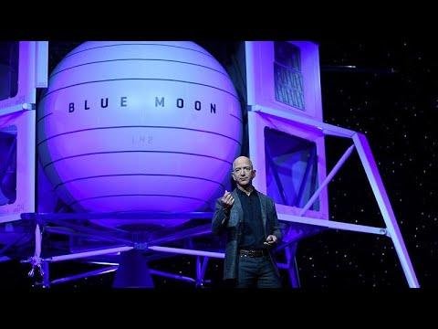 Neue Mondlandefähre von Amazon-Chef Besoz soll die NA ...