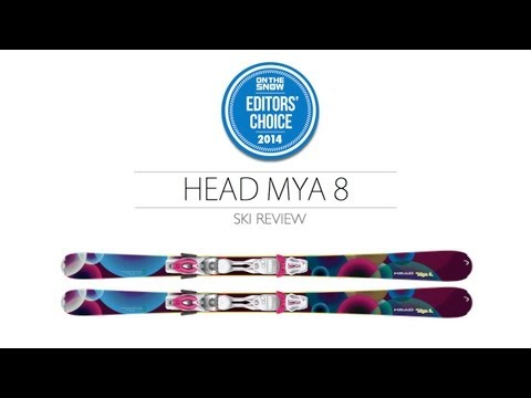 2014 HEAD Mya 8 Ski Review - Women's Frontside Editors' Choice