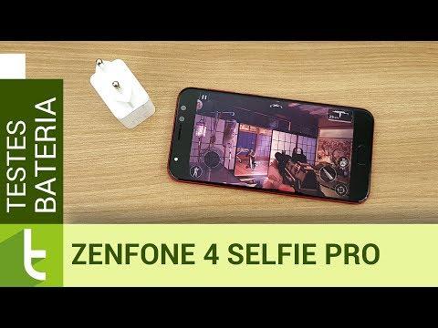 Autonomia do Asus Zenfone 4 Selfie Pro  Teste de bateria oficial do TudoCelular