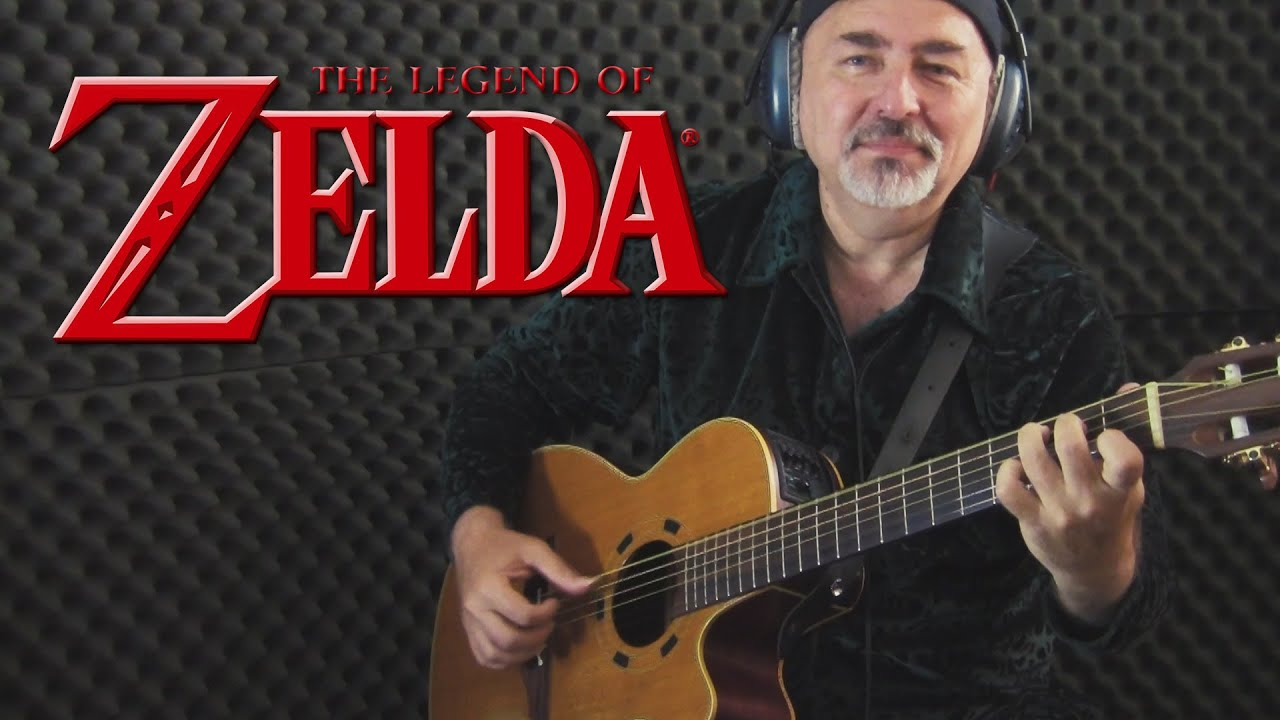 The Legend Of Zelda (Zelda's Theme)  – fingerstyle guitar